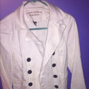 Button up jacket.